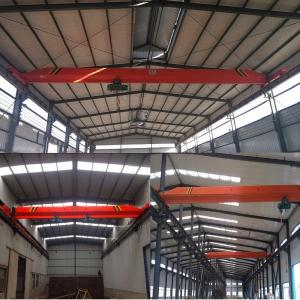 China 5 t / 6 ~ 16 m single girder bridge/electric single-girder crane on sale