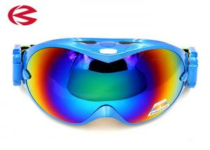 China Dust Protection Snowboard Ski Goggles , HD Vision Elastic Band Glasses on sale