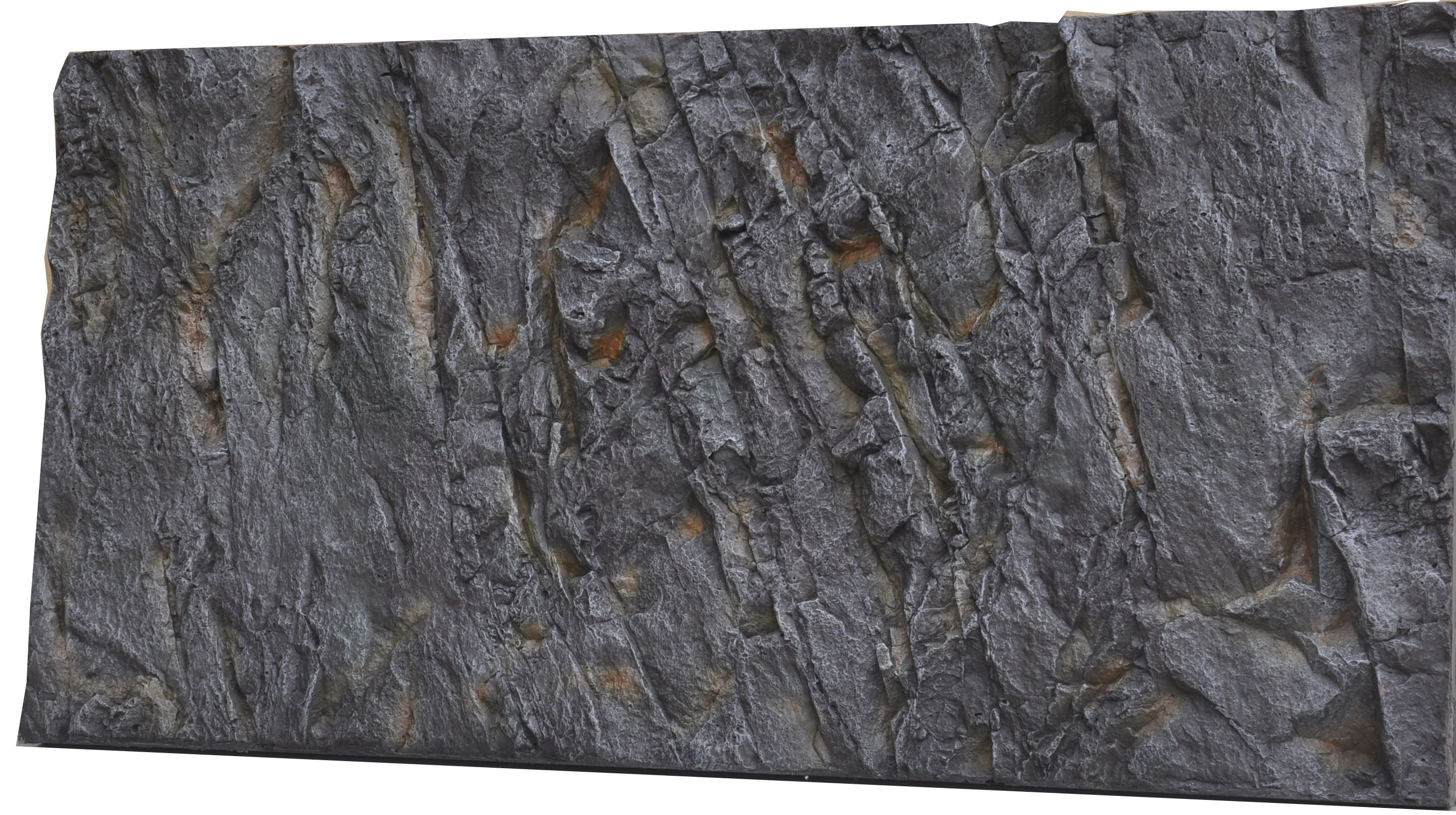 3d aquarium fish tank background feature rock - Material Pu Feature