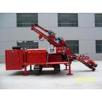 Three Head Clamping Crawler Core Drill Rig Machine Simple Operation
