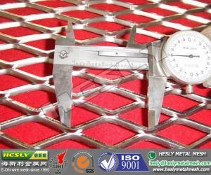 China La maille augmentée en métal, le grillage d'acier inoxydable, 304 a augmenté le métal, métal augmenté par 316L on sale