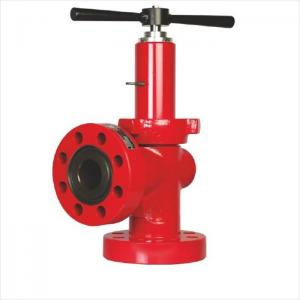 China 2000 - 20000psi Drill Spare Parts Choke Valve For Oil Well Production Rate Control on sale
