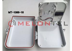 China 16 Ports FTTH Fiber Optic Terminal Box , Drop Cable Distribution Box 300*270*100 Dimensions on sale