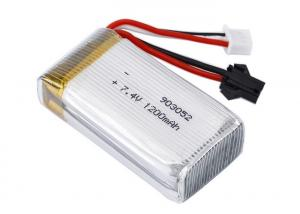 China Durable RC Helicopter Battery 903052 7.4V 1200mAh RC Quadcopter Helicopter Accessories on sale