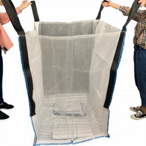 China Firewood Vented Packaging Super Sacks Bags 1000 KGS FIBC Jumbo Bags on sale