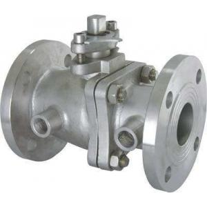 China Heat Preservation Jacket Insulation floating type ball valve With Lever Operator on sale