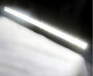 China le suv en aluminium combiné incurvé supérieur de logement de tache d'inondation de toit de voiture de 50inch 288W a mené le guide optique on sale