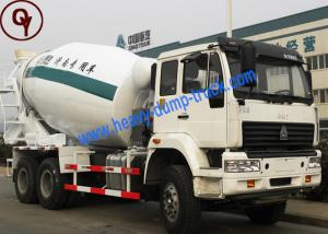 China Sinotruk Gold Prince Concrete Mixer Truck 6x4 Right Hand Driving 12m3 Capacity on sale