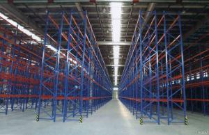 China Cold Rolled Heavy Duty Warehouse Shelving Units ISO9001 Certification on sale