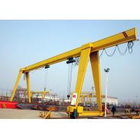 20 Ton Single Girder Gantry Crane , Truss Structure A Frame Gantry Crane Low Noise