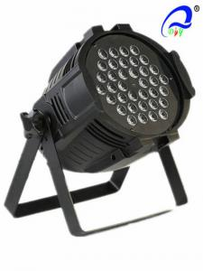 China RGB Disco 36pcs 1W / 3W  LED Par Light DMX Stage Lighting Aluminium Die - Casting on sale