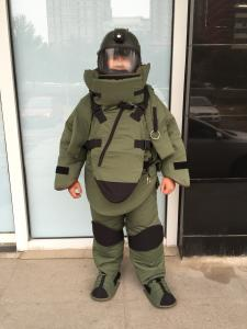 China Washable Fire Retardant Bomb Disposal Equipment EOD Bomb Suit Backbone Protector on sale