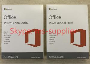 China The Latest Microsoft Office Professional Plus 2016 Retail Key Online Activate on sale