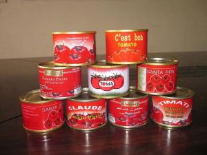 China Factory supply tomato paste 70g 28-30% on sale