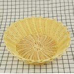 Eco-friendly and disposable handmade decorative cheap price pp fruit baskets storage baskets