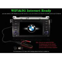 China Digital BMW DVD Players 3 Series E46 M3 DVD GPS NAVIGATION with Radio RDS BMW-744GD on sale