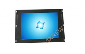 China AV / HDMI Input Rack Mount Open Frame LCD Monitor 8 inch Wide Screen on sale