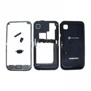 China Replacement Samsung Cell Phone Galaxy s Housing i9000 in Black of Original with Faceplate on sale