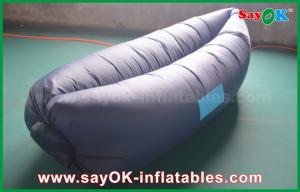 China SayOK Air Sleeping Lazy Bag For Relaxing Blue Color With Logo Print Safa on sale