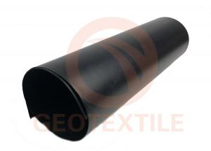 China Bottom Landfill Liner HDPE Smooth Geomembrane Low Permeable Synthetic Membrane on sale