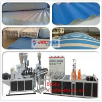 China Corrugated Plastic Roof Making Machine / Tile Roll Forming Machine with 0.8mm - 3mm Thickness on sale