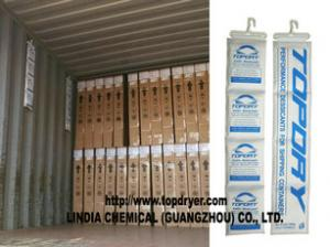 China High Moisture Absorption Container Desiccant With Non-woven Desiccant Package Material on sale