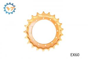 China High Accuracy Excavator Undercarriage Sprocket For EX60 HITACHI Spare Parts on sale