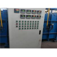 China Low Carbon Electric Galvanized Wire Machine , Coating Production Line For Steel Wire on sale