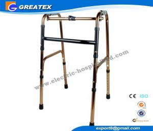 China Folding Rollator Walker With One Button , walkers medical equipment for Disabled Elderly on sale
