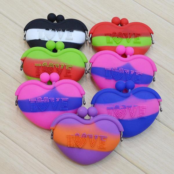 671fd78552d ladies wallet ladies pars hand set bag genuine wal,silicone wallet ...