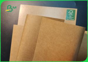 China FDA Approved 160gsm + 10g Virgin Coated Brown kraft Paper Roll For Paper Cup on sale