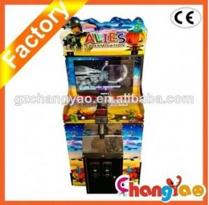 China Mini Alies Shooting Game Virtual Game Machines on sale