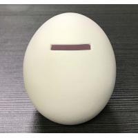 Custom Mini High Quality Unique Plastic Vinyl Egg Shape Piggy Bank money boxs