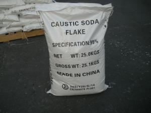 China caustic soda flakes used in detergent chemical raw material on sale