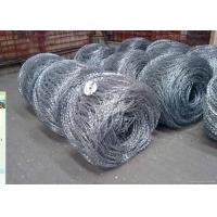 Hot Dipped Galvanized Flat / Concertina Barbed Wire Reverse and Normal Twist