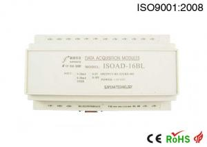 China 16 Channel 4-20ma to RS232 RS485 Data Acquisition Module with Modbus Protocol on sale