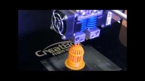 China CreatBot DX Plus Nylon 3d Printer , Digital Large Format 3d Printer on sale