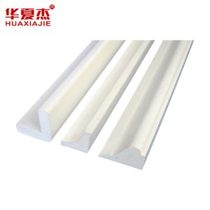 China Decorative PVC Trim Moulding , Durable Profiles for Plaster Boards on sale