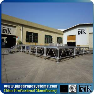 China RK 1mx2m retractable industrial stage platform with aluminum portable frame on sale