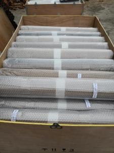 China single weft/ double weft conveyor belts for tunnel oven or conveyor oven 260 degree working temperature on sale