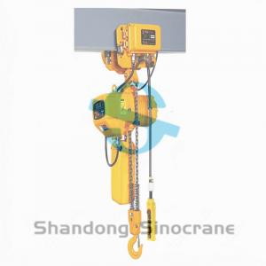 China Good Price 0.5T 1T 1.5T 2T 3T 5T 7.5T 10T Trolley Type Hook Type Electric Chain Hoist on sale