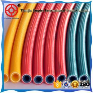 China Air PTFE  hose manufacturer high quality fabric rubber air hose on sale