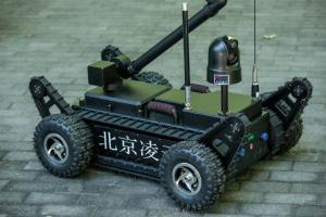 China Smart Counter Terrorism Equipment X Ray Bomb Defusing Robots 80KG Weight on sale