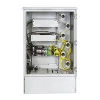 China 712 Port Optical Distribution Cabinet Durable Galvanized Steel Material on sale