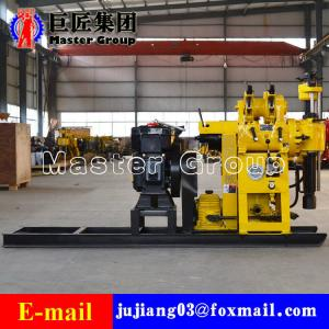 China HZ-130Y Hydraulic portable well drilling machine rotary drilling rig drill 130meters on sale