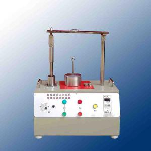 China IEC60884 figure 20 Apparatus For Testing Cord Retention / Cable Retention Test Apparatus on sale