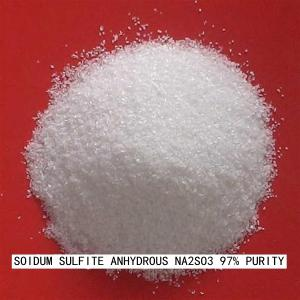 China High Purity Sodium Sulfite Food Grade Vegetable Preservative / Bleaching Agents on sale
