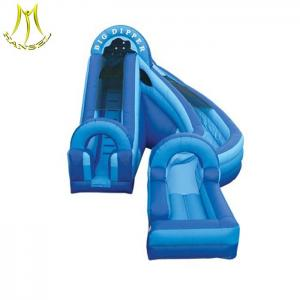 China Hansel  giant inflatable slide for sale inflatable water park for backyard on sale