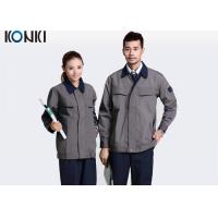 Adults Professional Work Uniforms / Workwear Embroidered Eco - Friendly