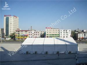 China White Outside Event Tent For Exhibition  Fashion Shows , Outdoor Tent Displays on sale